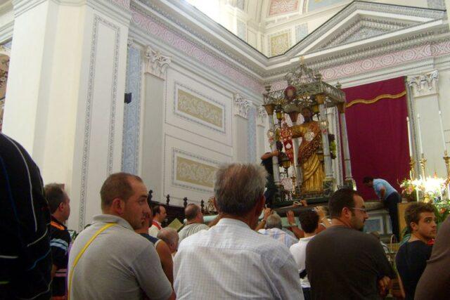 La discesa di San Giacomo