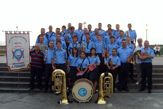Il Compl. Band. A. Tornabene in concerto al Carcere Pagliarelli di Palermo
