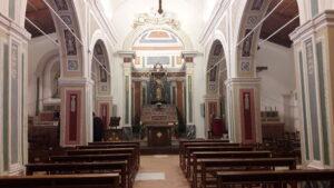 INterno Chiesa di San Giacomo
