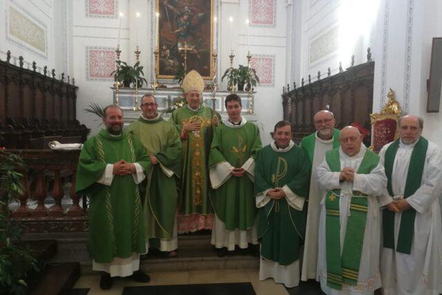 Saluti Don Francesco e benvenuto Fra Mario