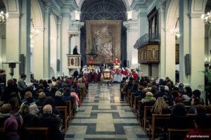 La predica in chiesa madre
