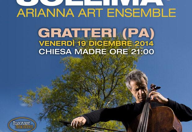 Giovanni Sollima e l'Arianna Art Ensamble in concerto a Gratteri il 19 dicembre