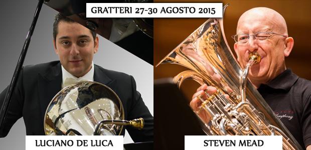 Steven Mead e Luciano De Luca a Gratteri per un master in euphonium – il programma