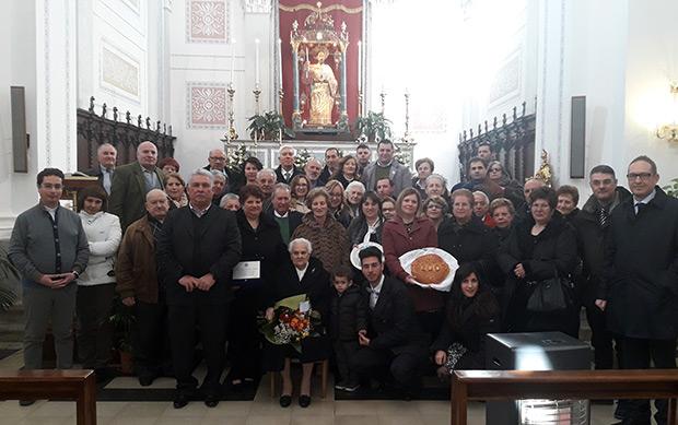 Gratteri: I 100 anni di nonna Giuseppa Culotta – foto